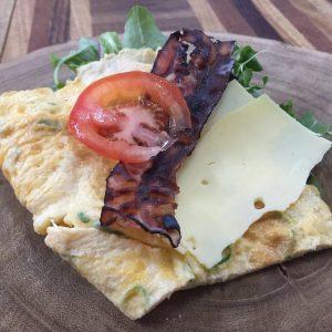 omelet met bosui