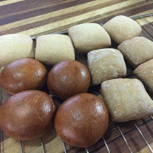 12 mini Osiris broodjes